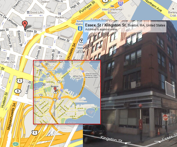 Sample Boston Fire Box Locations